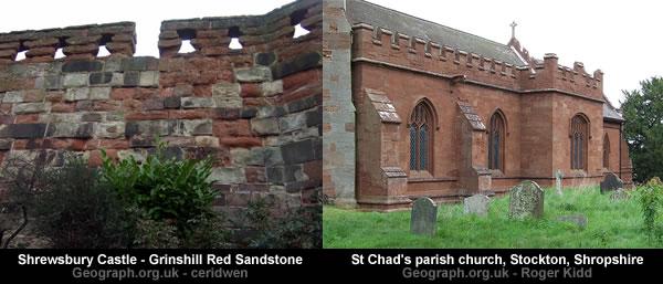 Shropshire Red Sandstone