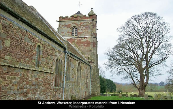 St Andrew - Wroxeter