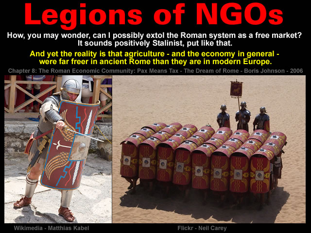 Legions of NGOs