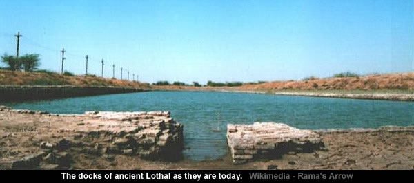 Docks of ancient Lothal