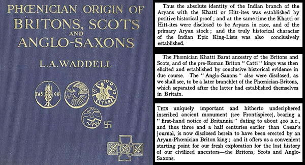 The Phoenician Origin of Britons, Scots & Anglo-Saxons -1924