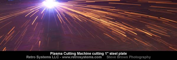 plasma-cutting