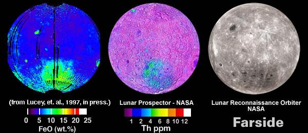 Thorium Fe - Lunar Far Side