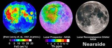 Thorium Fe - Lunar Near Side