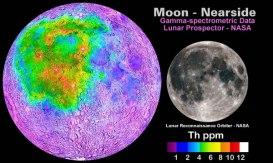 Thorium - Lunar Near Side