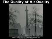 The Quality of Air Quality