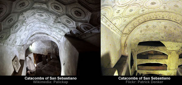the catacombs and the early christians Because of this persecution, the early christians were forced to meet in the catacombs, which were long, dark galleries under the city of rome there they continued their meetings, baptisms, and even burials for their dead.